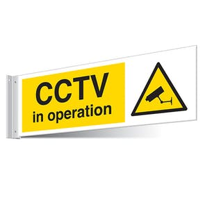 CCTV In Operation Corridor Sign - Landscape