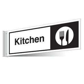 Kitchen Corridor Sign - Landscape