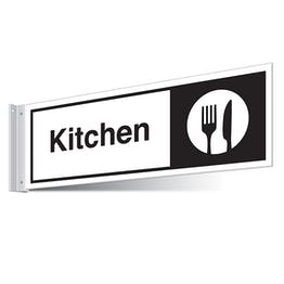 Kitchen Corridor Sign - Landscape