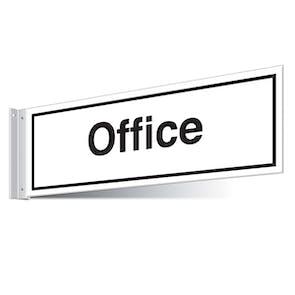 Office Corridor Sign