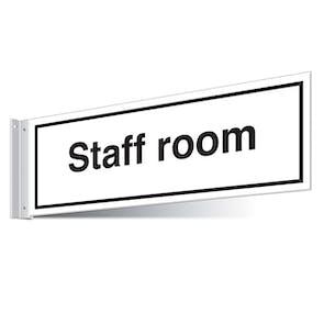 Staff Room Corridor Sign