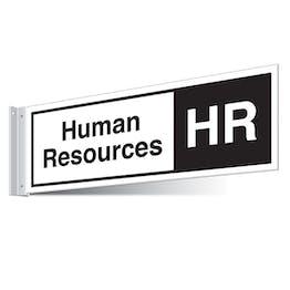 Human Resources Corridor Sign