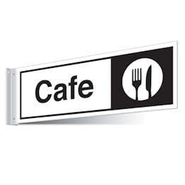 Cafe Corridor Sign - Landscape