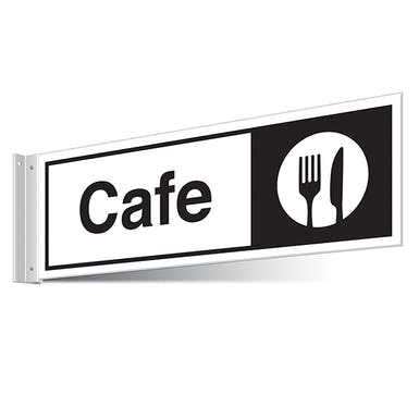 Cafe Corridor Sign - Landscape
