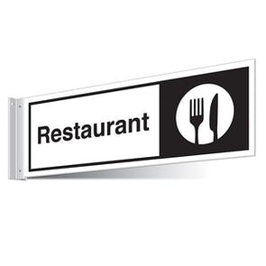 Restaurant Corridor Sign - Landscape