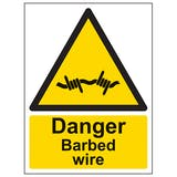 Barbed / Razor Wire Signs