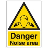 Hearing/Noise Safety Signs