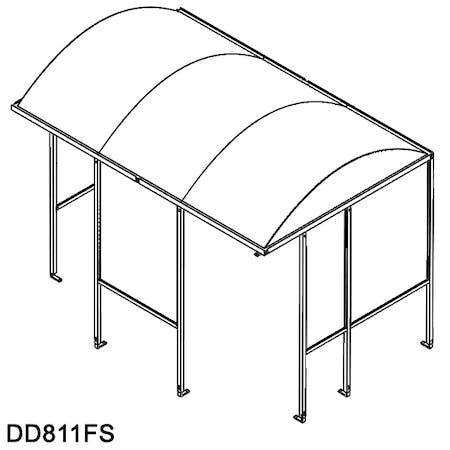 No Butts 4-sided Smokescreen