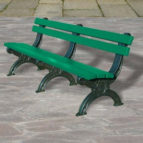 Deluxe Park Seat With Back