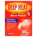 Deep Heat Regular Pain Relief Heat Patch