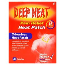 Deep Heat Regular Pain Relief Heat Patch