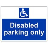 Disabled Workplace Signs