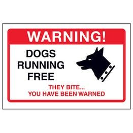 Dogs Running Free, They Bite...