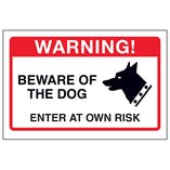 Beware Of The Dog, Enter At Own Risk