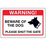 Beware Of The Dog, Please Shut The Gate