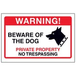 Beware Of The Dog, Private Property
