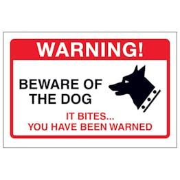 Beware Of The Dog, It Bites...