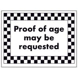 Proof of Age May Be Requested
