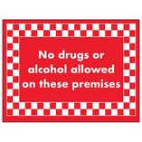 No Drugs or Alcohol Allowed On These Premises