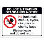 Police & Trading Standards...Please Leave and Do Not...