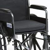 Drive Black Canvas Wheelchair Cushion