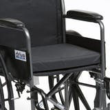 Drive Black Canvas Wheelchair Cushion