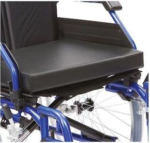 Drive Black Vinyl Wheelchair Cushion