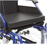 Drive Black Vinyl Wheelchair Cushion