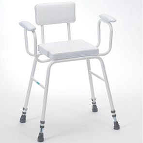 Drive Perching Stool Padded Arms & Back