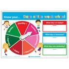 3D Know your... Days of the Week Wheel Poster