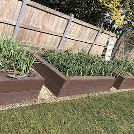 Raised Bed Sleepers