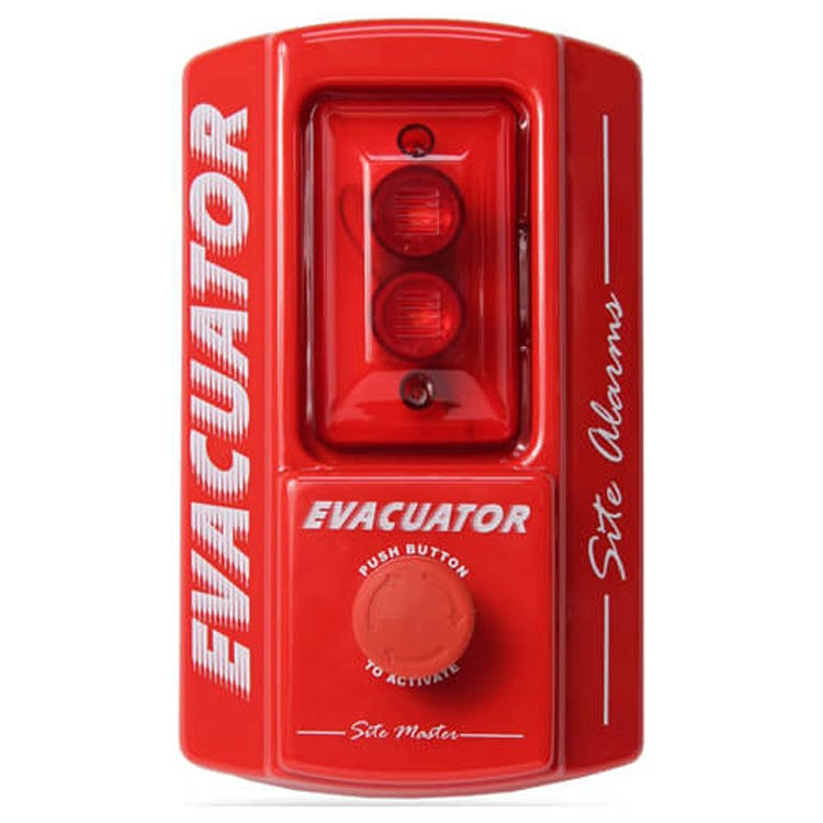 Evacuator Site Master Push Button Alarm