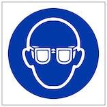 Eco-Friendly Eye Protection Symbol