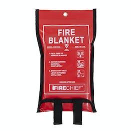 Firechief Soft Case Woven Cloth Fire Blanket