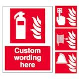 Custom Fire Signs