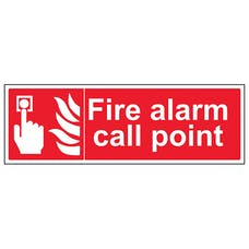 Fire Alarm Call Point - Landscape