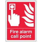 Fire Alarm Call Point - Portrait
