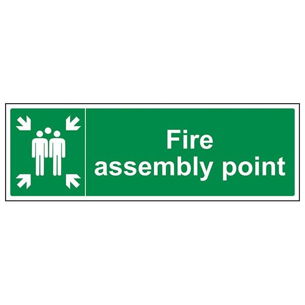 Fire Assembly Point - Landscape
