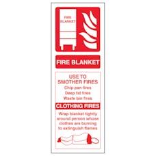 Fire Blanket ID - Portrait