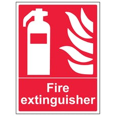 Fire Extinguisher - Portrait