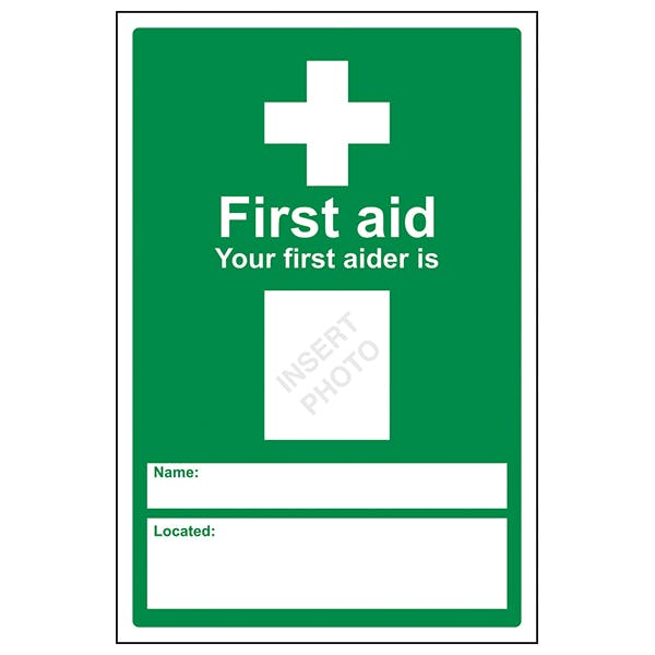First Aid – Your First Aider Is
