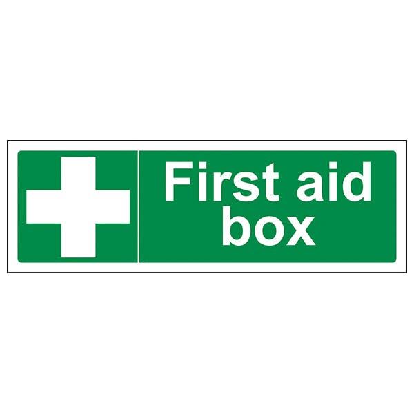 First Aid Box - Landscape