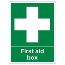First Aid Box - Portrait