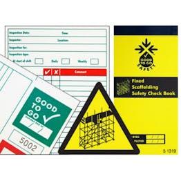 Fixed Scaffolding Check Book