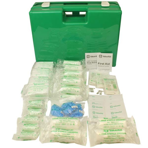 HSE Compliant First Aid Kit In Deluxe Case