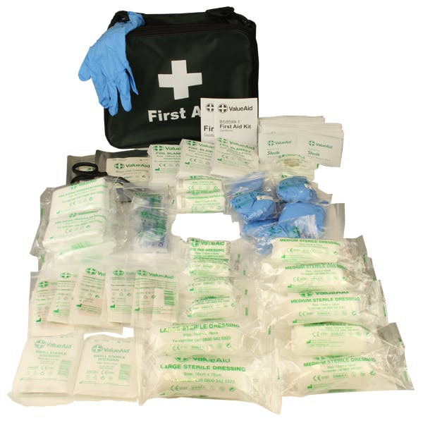 BS8599-1:2019 Compliant Kits In Soft Cases