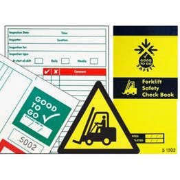 Forklift Check Book