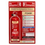 Foam Fire Extinguisher Station