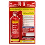 Wet Chemical Fire Extinguisher Station