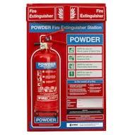 Powder Fire Extinguisher Station